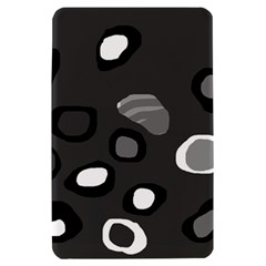 Gray abstract pattern Kindle Fire (1st Gen) Hardshell Case