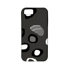 Gray abstract pattern Apple iPhone 5 Classic Hardshell Case (PC+Silicone)