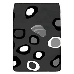 Gray abstract pattern Flap Covers (S)