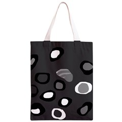 Gray abstract pattern Classic Light Tote Bag