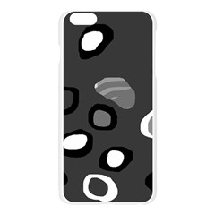 Gray abstract pattern Apple Seamless iPhone 6 Plus/6S Plus Case (Transparent)