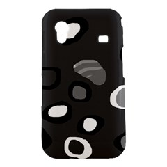 Gray abstract pattern Samsung Galaxy Ace S5830 Hardshell Case