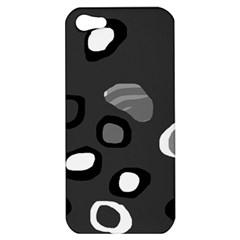 Gray abstract pattern Apple iPhone 5 Hardshell Case