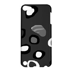 Gray abstract pattern Apple iPod Touch 5 Hardshell Case