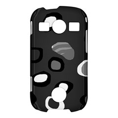 Gray abstract pattern Samsung Galaxy S7710 Xcover 2 Hardshell Case