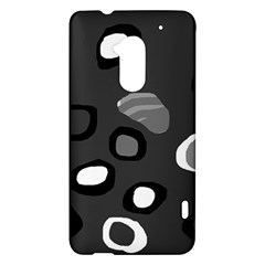 Gray abstract pattern HTC One Max (T6) Hardshell Case