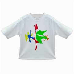 Colorful amoeba abstraction Infant/Toddler T-Shirts