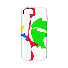 Colorful amoeba abstraction Apple iPhone 5 Classic Hardshell Case (PC+Silicone)