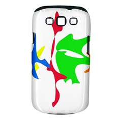 Colorful amoeba abstraction Samsung Galaxy S III Classic Hardshell Case (PC+Silicone)