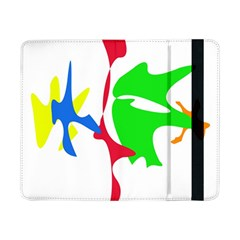 Colorful amoeba abstraction Samsung Galaxy Tab Pro 8.4  Flip Case