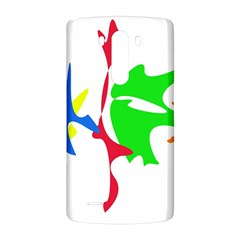 Colorful amoeba abstraction LG G3 Back Case