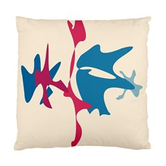 Decorative amoeba abstraction Standard Cushion Case (One Side)