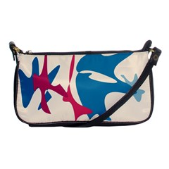 Decorative amoeba abstraction Shoulder Clutch Bags