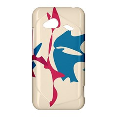 Decorative amoeba abstraction HTC Droid Incredible 4G LTE Hardshell Case