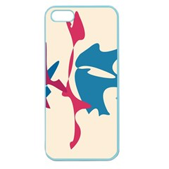 Decorative amoeba abstraction Apple Seamless iPhone 5 Case (Color)