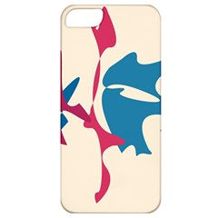 Decorative amoeba abstraction Apple iPhone 5 Classic Hardshell Case