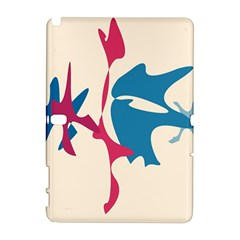 Decorative amoeba abstraction Samsung Galaxy Note 10.1 (P600) Hardshell Case