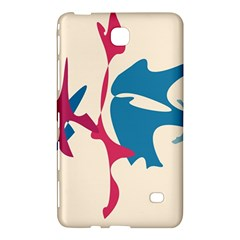 Decorative amoeba abstraction Samsung Galaxy Tab 4 (8 ) Hardshell Case