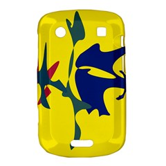 Yellow amoeba abstraction Bold Touch 9900 9930