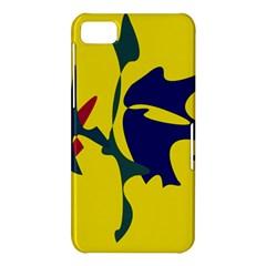 Yellow amoeba abstraction BlackBerry Z10