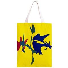 Yellow amoeba abstraction Classic Light Tote Bag