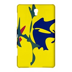 Yellow amoeba abstraction Samsung Galaxy Tab S (8.4 ) Hardshell Case