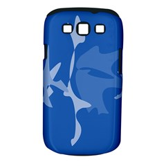 Blue amoeba abstraction Samsung Galaxy S III Classic Hardshell Case (PC+Silicone)