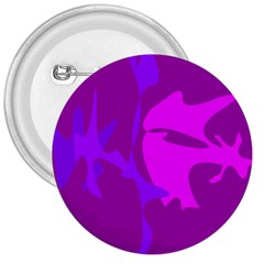 Purple, pink and magenta amoeba abstraction 3  Buttons