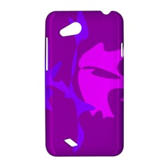 Purple, pink and magenta amoeba abstraction HTC Desire VC (T328D) Hardshell Case