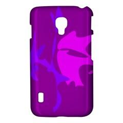 Purple, pink and magenta amoeba abstraction LG Optimus L7 II