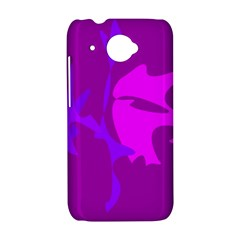 Purple, pink and magenta amoeba abstraction HTC Desire 601 Hardshell Case