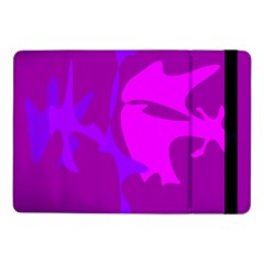 Purple, pink and magenta amoeba abstraction Samsung Galaxy Tab Pro 10.1  Flip Case