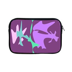 Purple amoeba abstraction Apple iPad Mini Zipper Cases