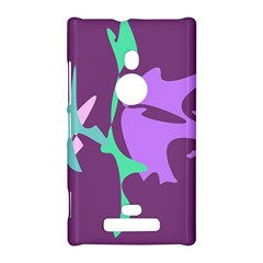 Purple amoeba abstraction Nokia Lumia 925