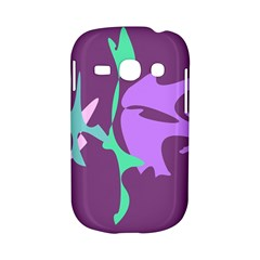 Purple amoeba abstraction Samsung Galaxy S6810 Hardshell Case