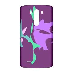 Purple amoeba abstraction LG G3 Back Case
