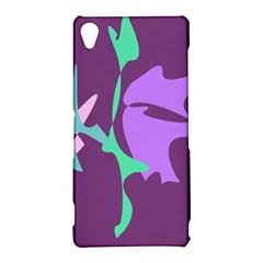 Purple amoeba abstraction Sony Xperia Z3