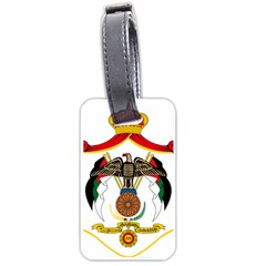 Coat of Arms of Jordan Luggage Tags (Two Sides)