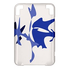 Blue amoeba abstract Kindle 3 Keyboard 3G