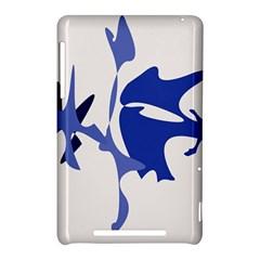 Blue amoeba abstract Nexus 7 (2012)