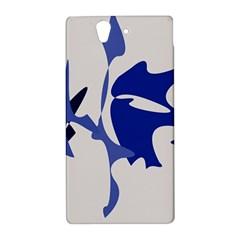 Blue amoeba abstract Sony Xperia Z