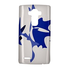 Blue amoeba abstract LG G4 Hardshell Case