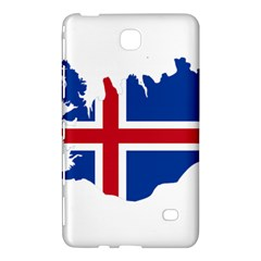 Iceland Flag Map Samsung Galaxy Tab 4 (8 ) Hardshell Case