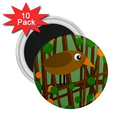 Brown bird 2.25  Magnets (10 pack)