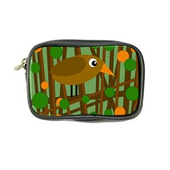 Brown bird Coin Purse