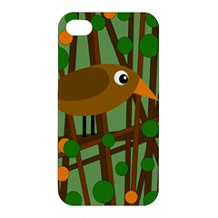 Brown bird Apple iPhone 4/4S Hardshell Case