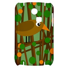 Brown bird Samsung S3350 Hardshell Case