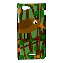 Brown bird Sony Xperia J