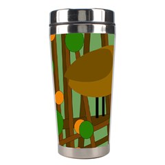 Brown bird Stainless Steel Travel Tumblers