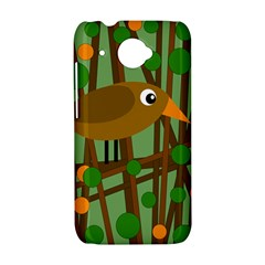 Brown bird HTC Desire 601 Hardshell Case